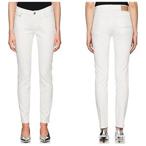 Care Label Cigar 137 White Skinny Jeans Italy 26